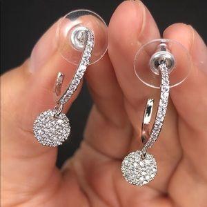 Sparkly Baby Hoop Earrings
